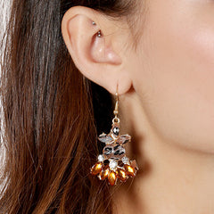 Radiant Crystal Earrings