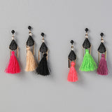 Tassel and Bar Earrings