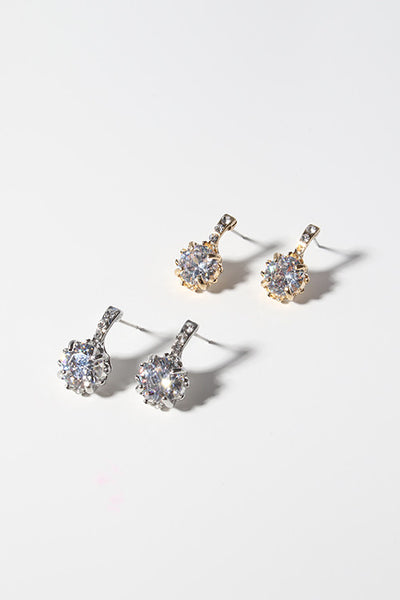 Sparkling Gem Earrings
