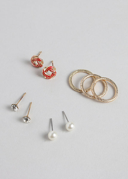 Knots Earring & Ring Set