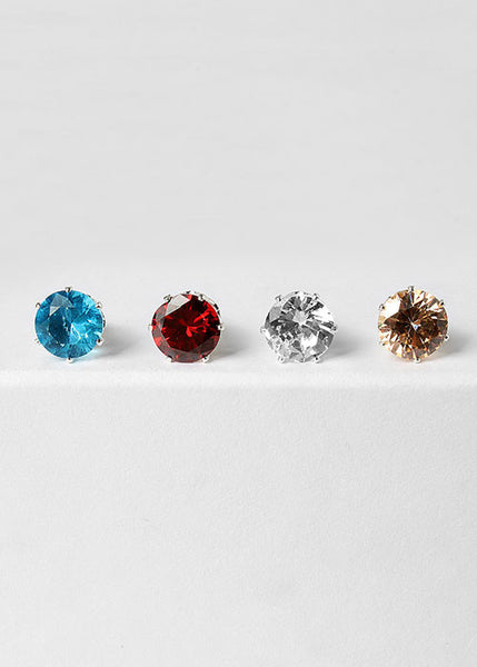 Colored Rhinestone Studs