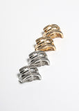 Half Loop Clip-On Earrings