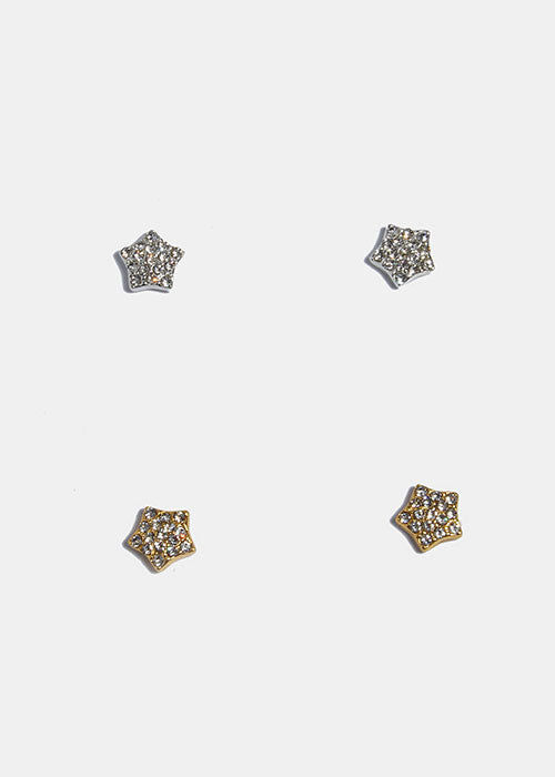 Magnetic Star Stud Earrings