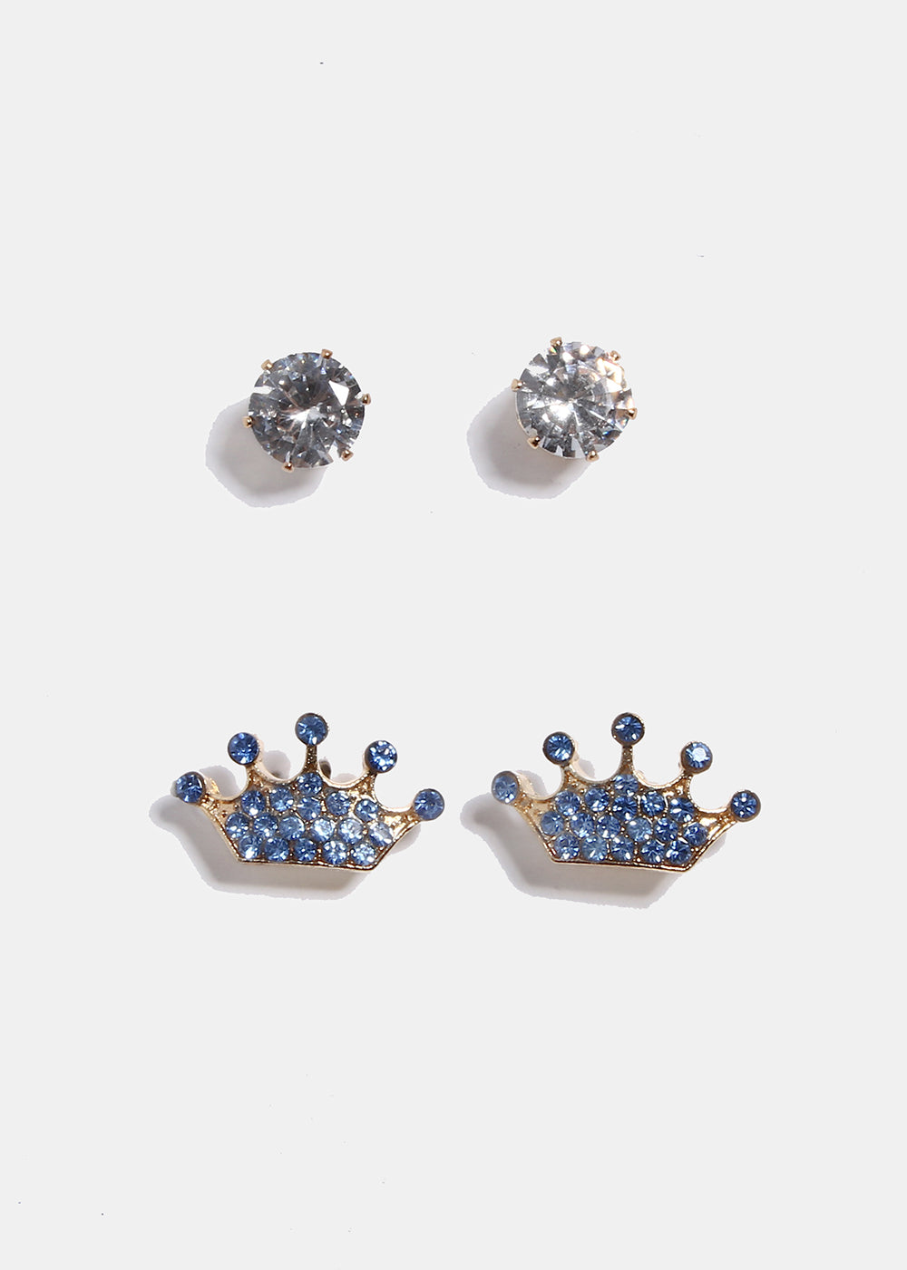 micro gold pav pave products diamonds stud round in emanuel earrings crown