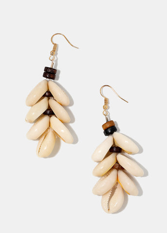 Cowrie Dangle Earrings