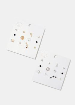 6-Pair Mix & Match Stud Set