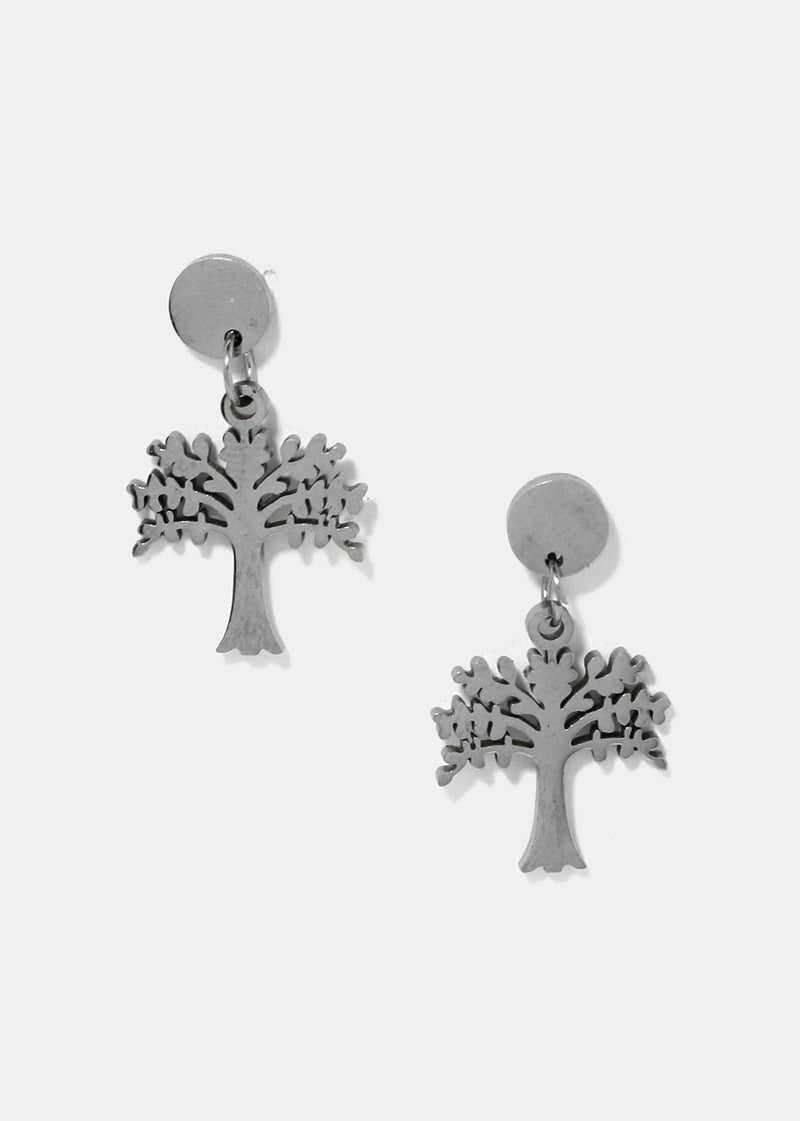 Tree Dangle Earrings