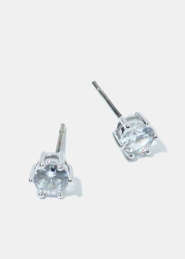 Small Rhinestone Stud Earrings
