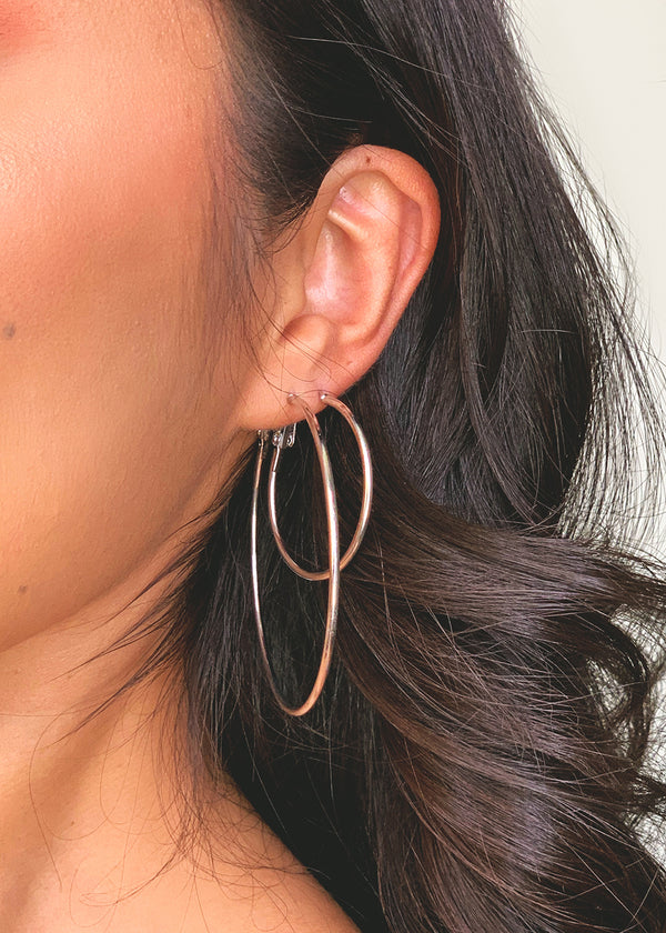 6-Pair Multi Color Hoop Earrings
