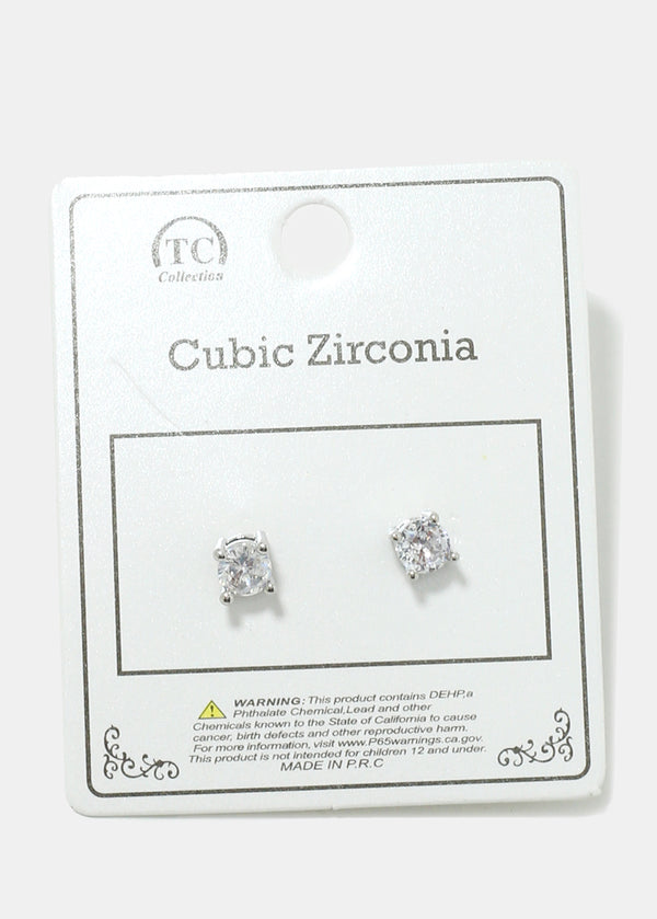 Small Gemstone Stud Earrings