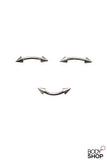 Steel Spike Eyebrow Rings