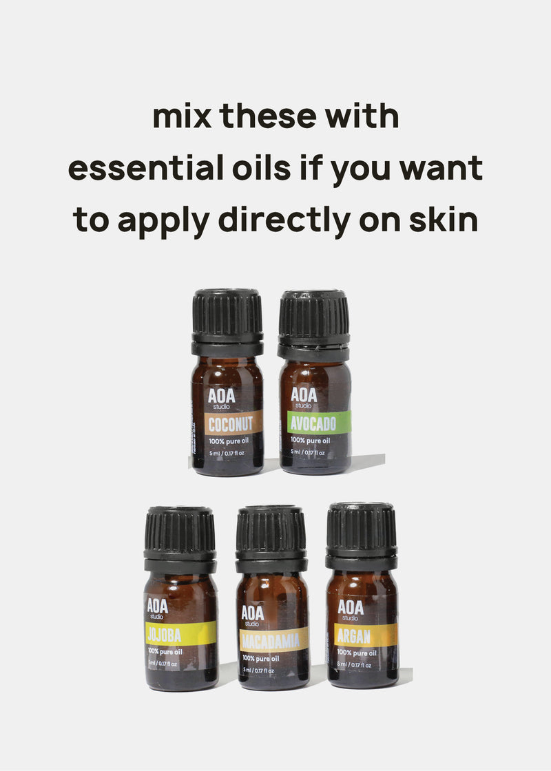 AOA 100% Carrier Oils - Macadamia