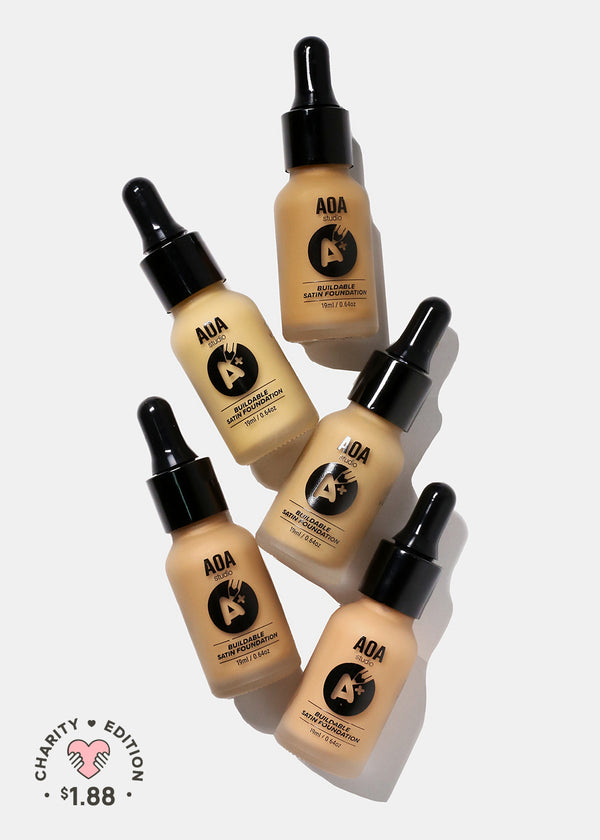 A+: AOA Drop Liquid Foundation - Medium Tones