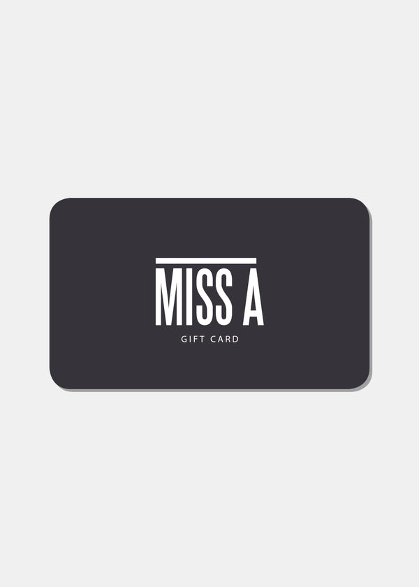 Gift Card- Miss A