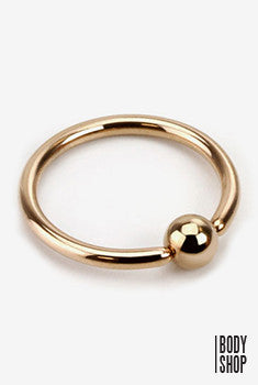 Captive Bead Ring 14GA 3/8""