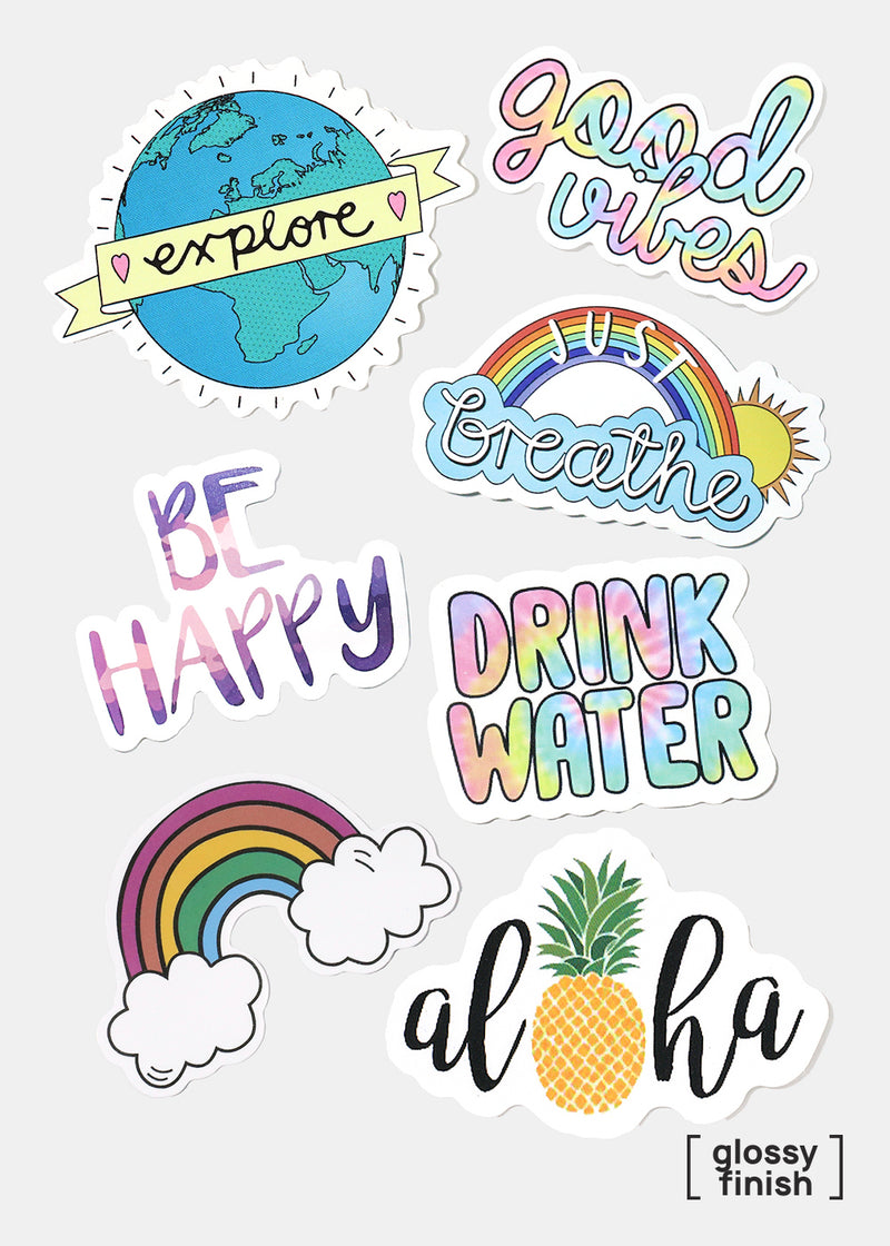 Official Key Items Sticker- Be Happy