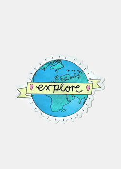 Official Key Items Sticker- Explore the World