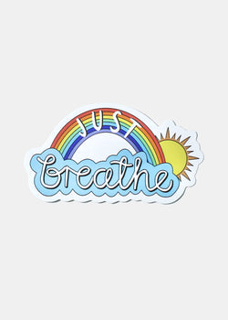 Official Key Items Sticker- Just Breathe