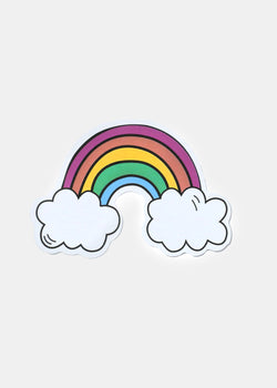 Official Key Items Sticker- Rainbow Cloud