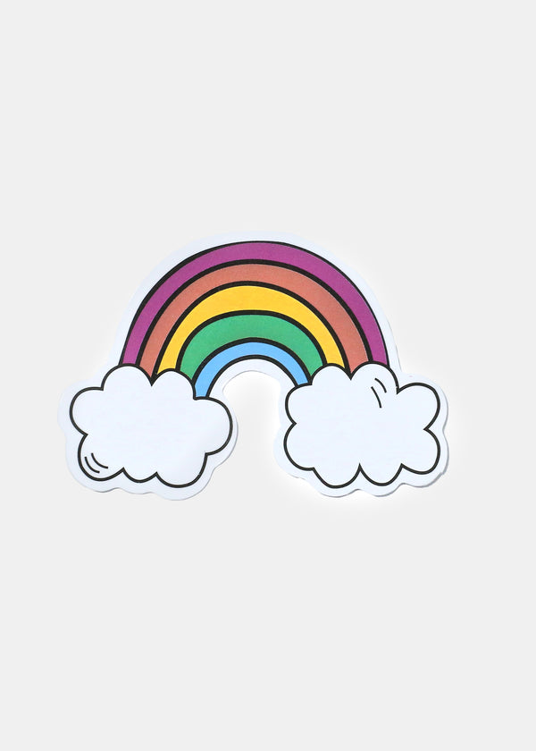 Oki Sticker- Rainbow Cloud