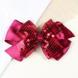 Sequin Party Hair Bow
