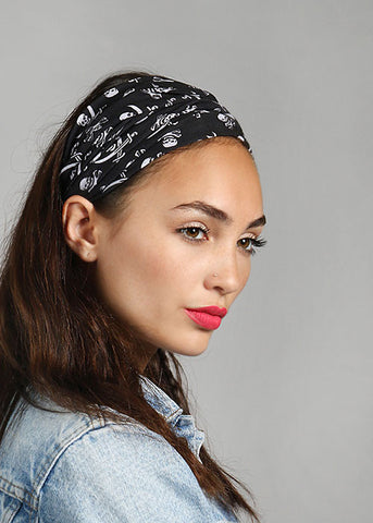 Skull Multi-Use Headwrap