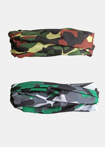 Camo Multi-Use Headband