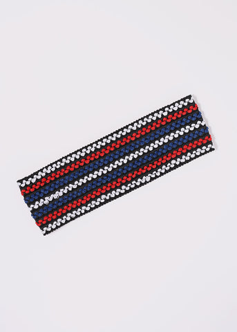 Wide Multi-Color Stretch Headband