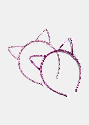 Glitter Cat Ear Headband
