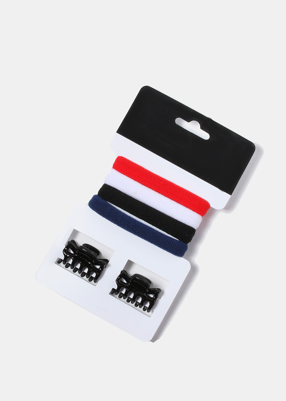 6 Piece Hair Tie & Clip Set