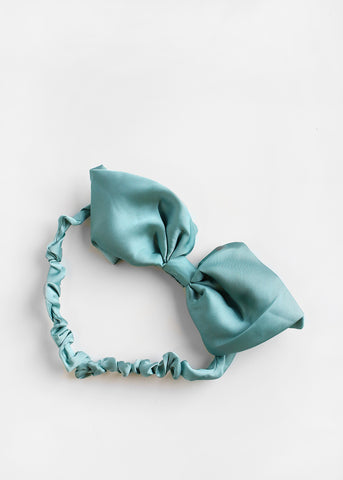 Large Bow Scrunched Headband
