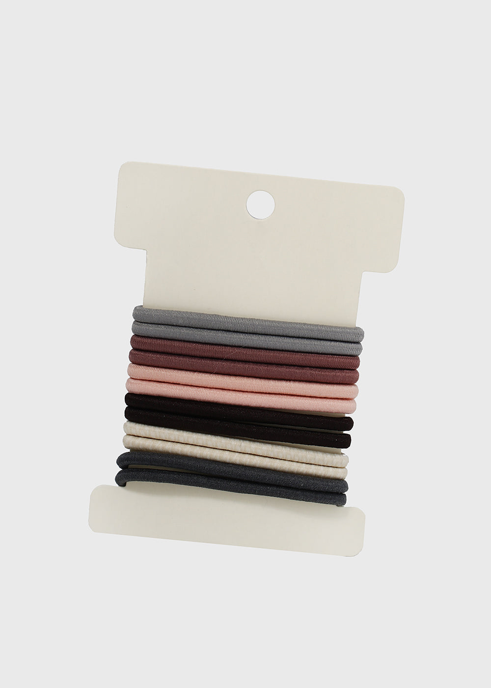 12 Piece Neutral Tone Hair Ties
