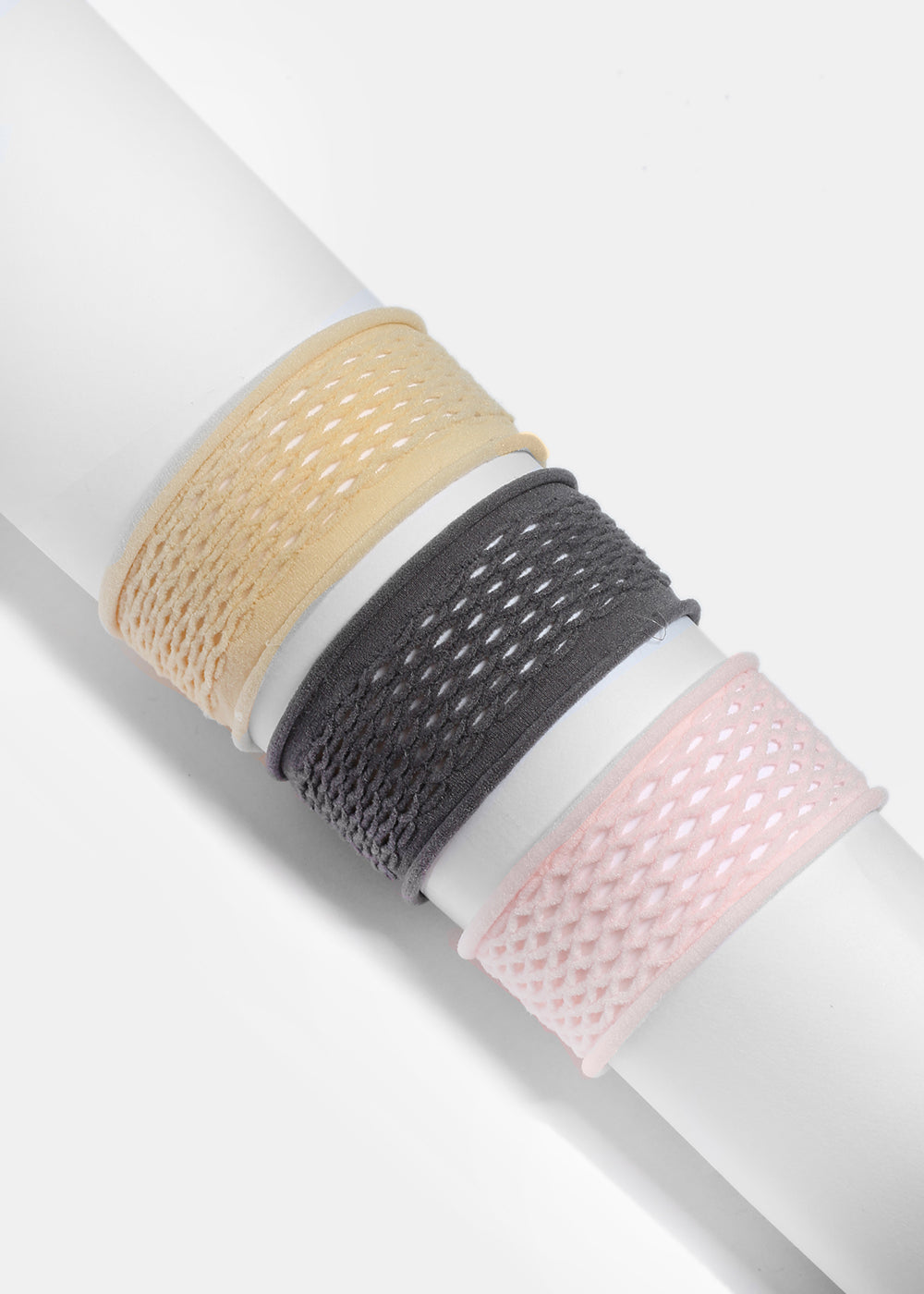 3 Piece Fishnet Hair Tie Set
