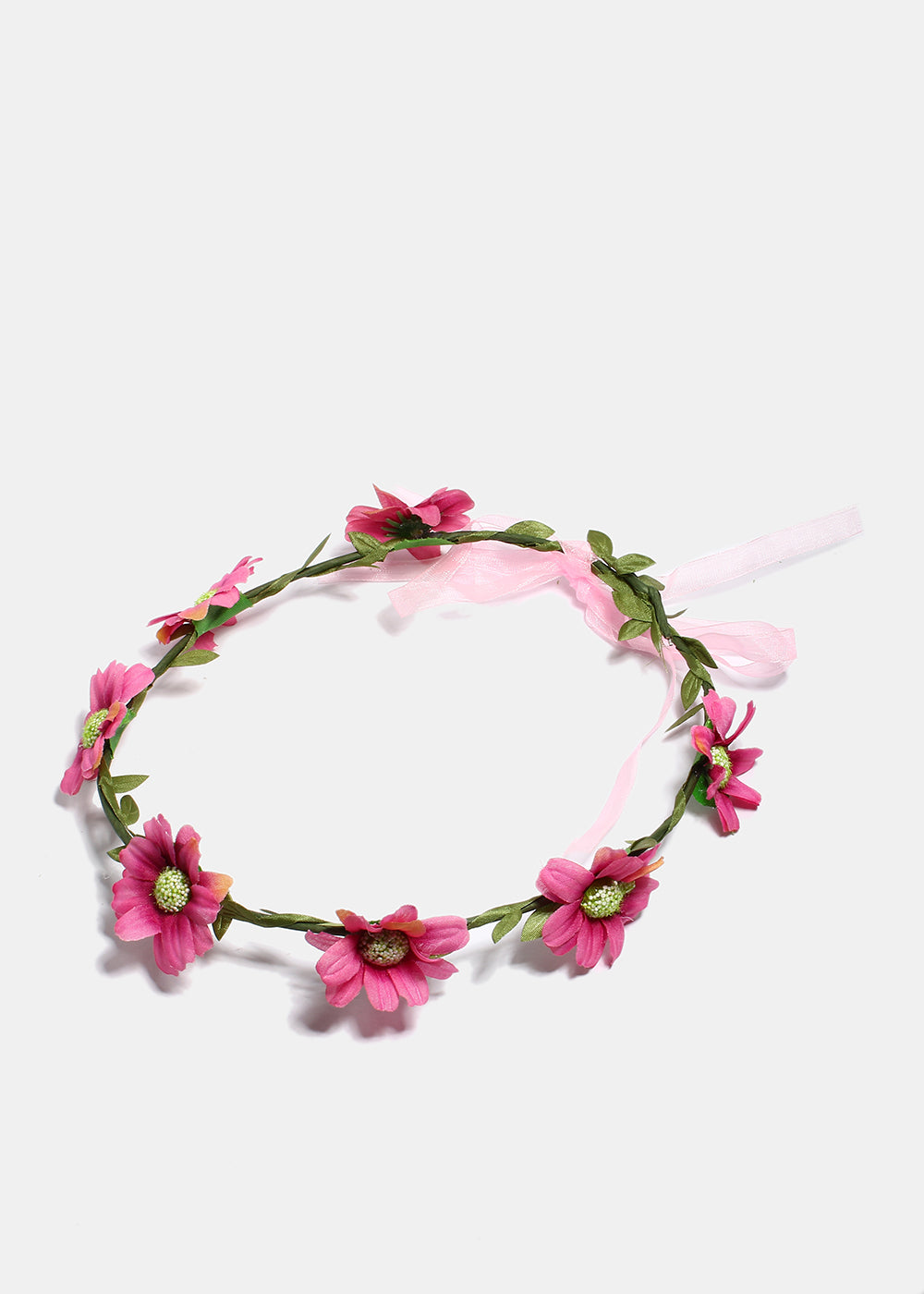 Ribbon Flower Crown Shop Miss A