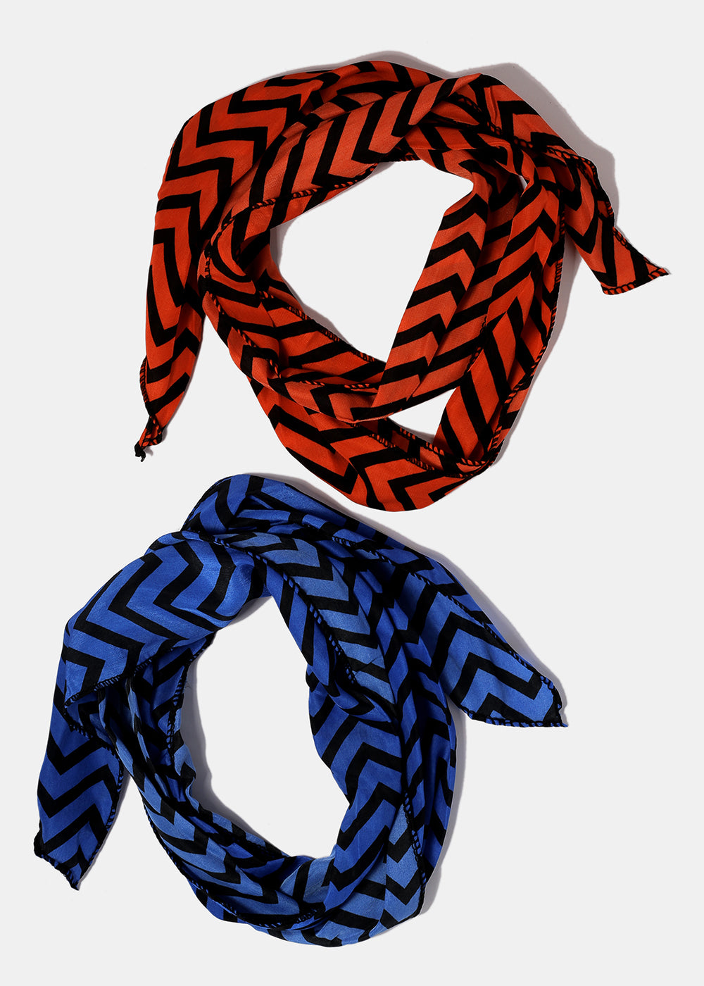 Multi-Use Chevron Head Scarf