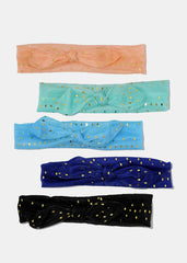 Sheer Gold Sequin Headband