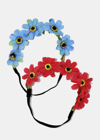 Flower Stretch Headband