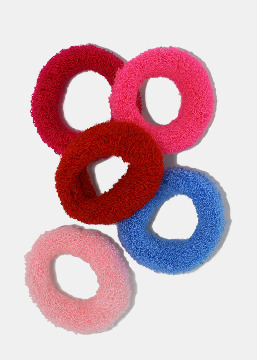 4 Piece Soft Scrunchie Set