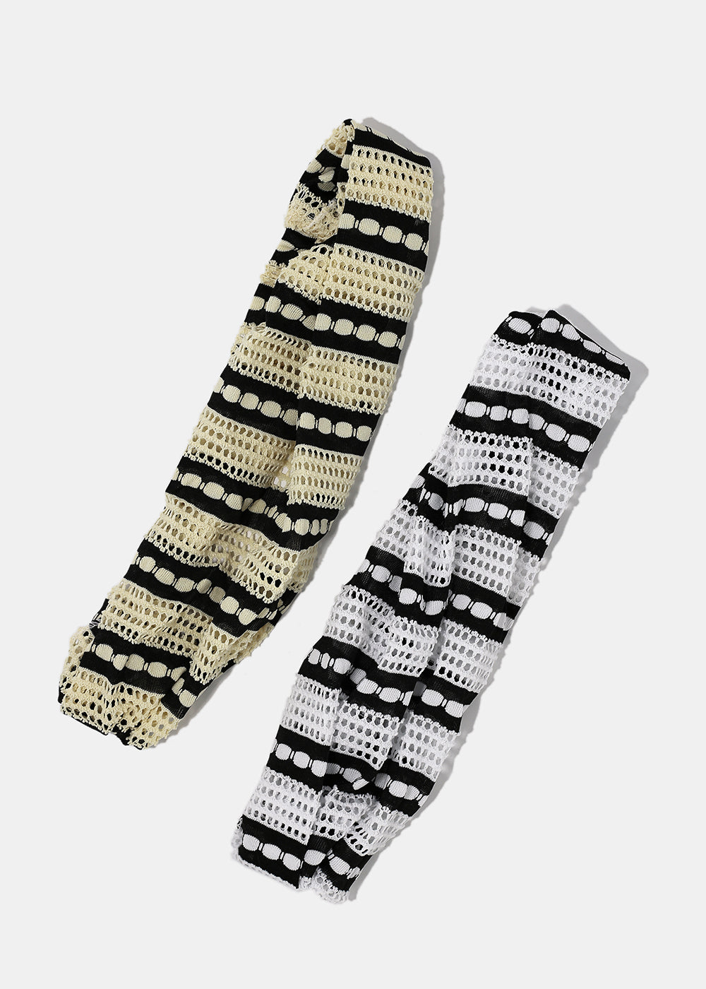 Striped Perforated Headband