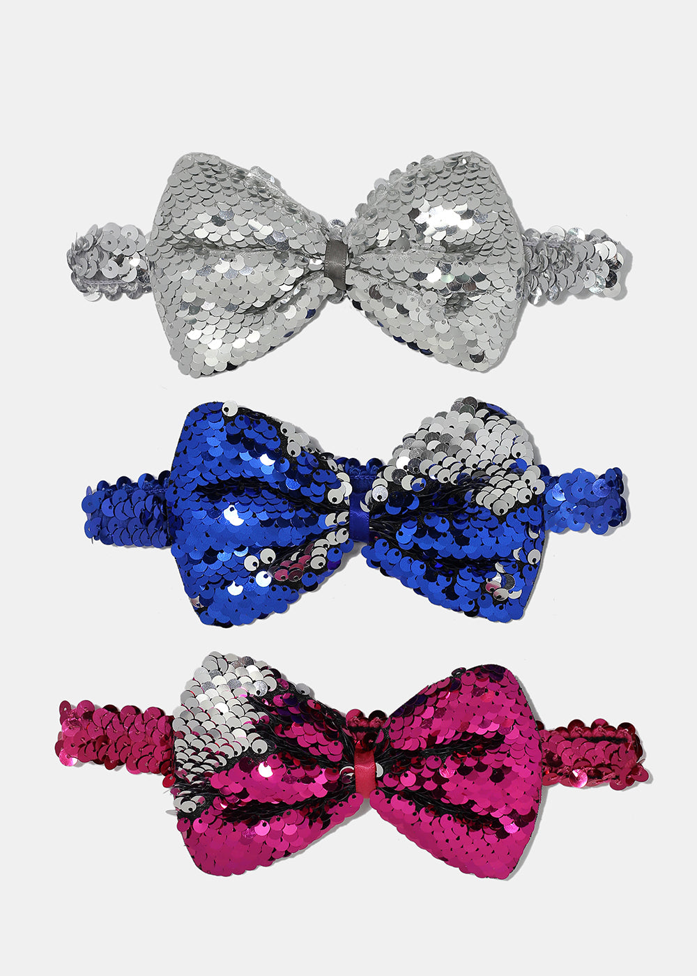 Sequin Bow Stretch Headband