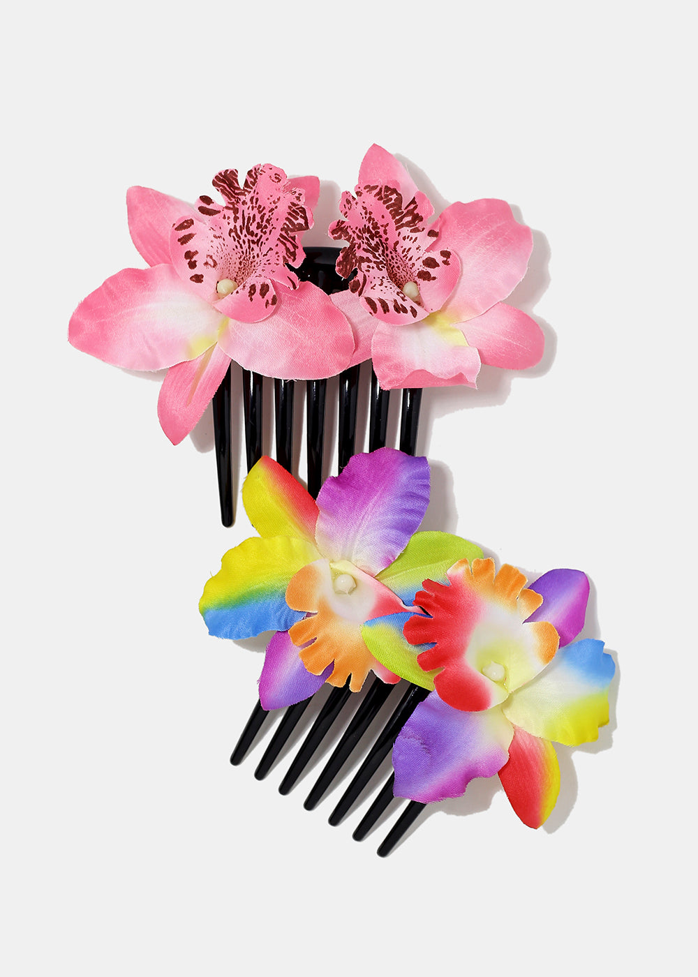 Tropical Flower Hair Comb