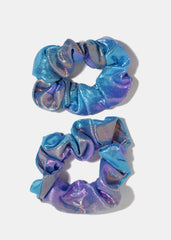 2-Piece Holographic Scrunchie Set