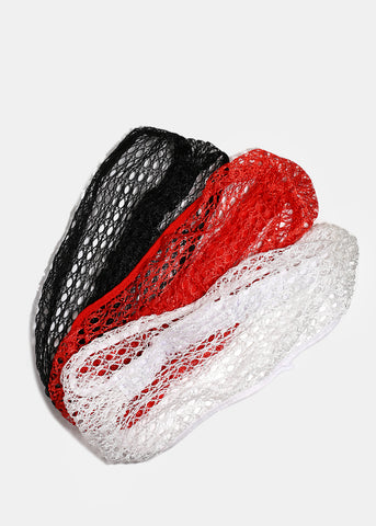 Fishnet Stretch Headband