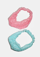 Kids Lace Stretch Headband