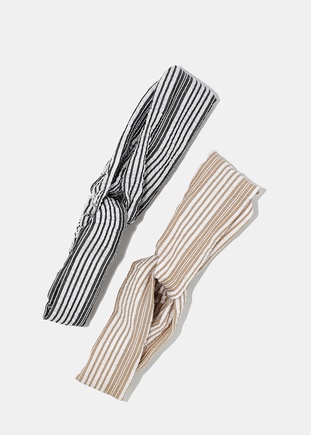 Striped Twist Knot Headband