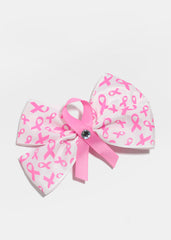 Breast Cancer Awareness Hair Bow