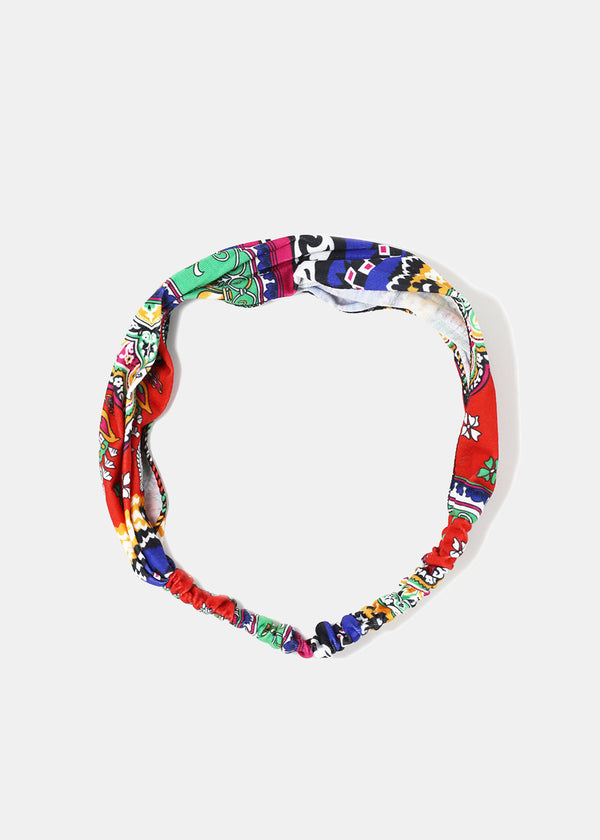 Multi-Print Stretch Headband