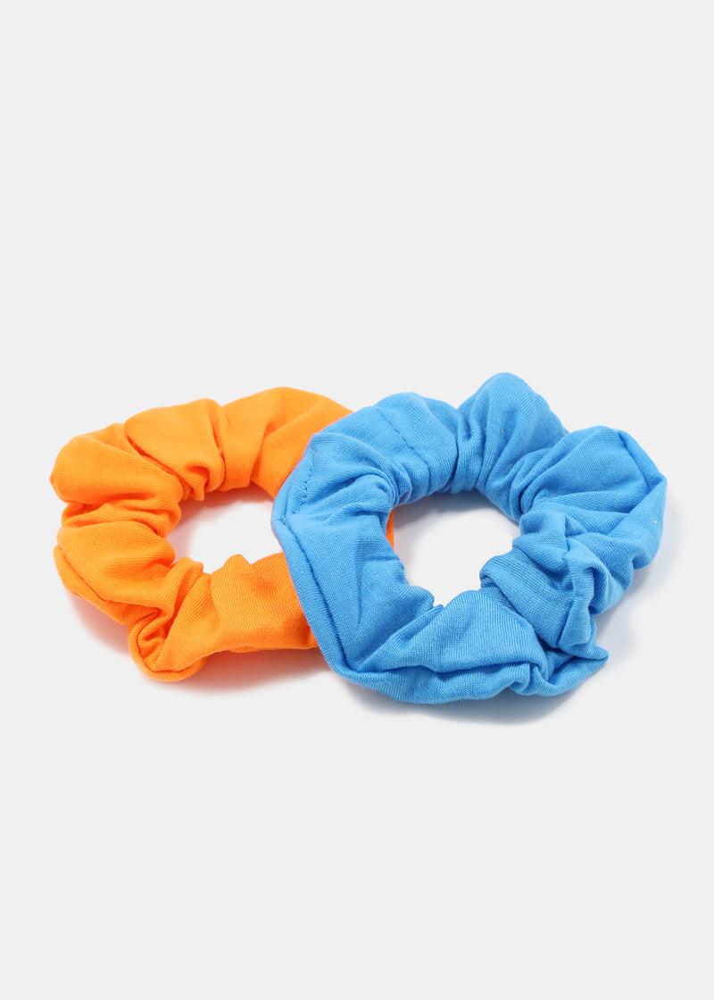 2-Piece Solid Scrunchies
