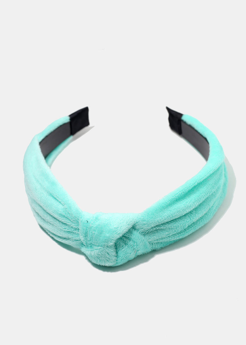 Plush Knotted Headband