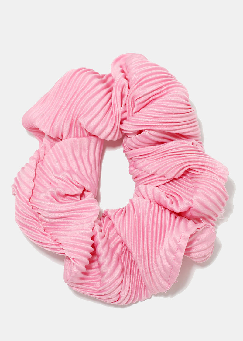 Large Textured Scrunchies